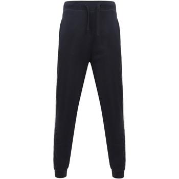 Vêtements Pantalons de survêtement Sf SF423 Bleu marine / blanc