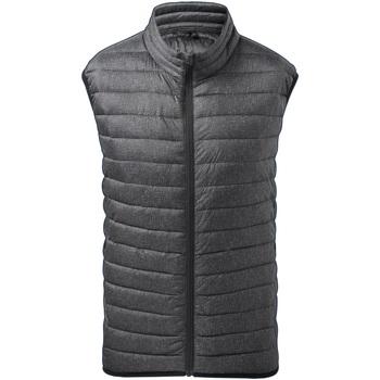 Vêtements Homme Gilets / Cardigans 2786 TS038 Gris foncé
