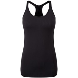Vêtements Femme Débardeurs / T-shirts sans manche Tridri TR217 Noir