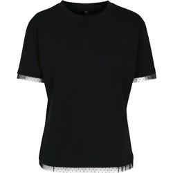 Vêtements Femme T-shirts manches courtes Build Your Brand BY124 Noir