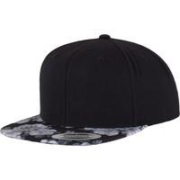 Accessoires textile Casquettes Flexfit By Yupoong YP087 Noir / gris