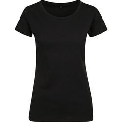 Vêtements Femme T-shirts manches courtes Build Your Brand BY086 Noir