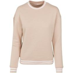 Vêtements Femme Sweats Build Your Brand BY105 Rose clair / blanc