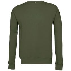Vêtements Sweats Bella + Canvas BE045 Vert militaire