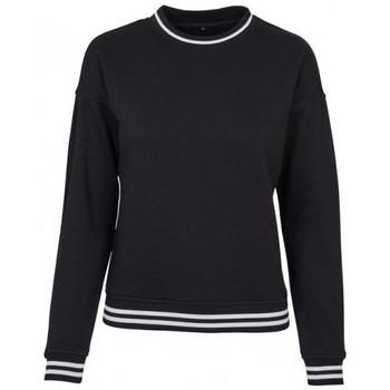Vêtements Femme Sweats Build Your Brand BY105 Noir / blanc
