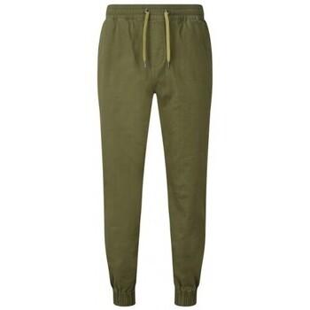 Vêtements Homme Pantalons de survêtement Asquith & Fox AQ055 Olive