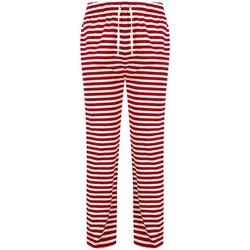 Vêtements Homme Pyjamas / Chemises de nuit Skinni Fit SFM85 Rouge / blanc