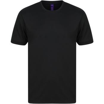 Vêtements Homme T-shirts manches courtes Henbury HB024 Noir