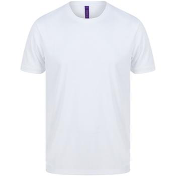 Vêtements Homme T-shirts manches courtes Henbury HB024 Blanc