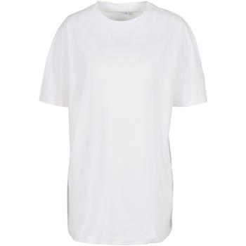 Vêtements Femme T-shirts manches courtes Build Your Brand BY149 Blanc