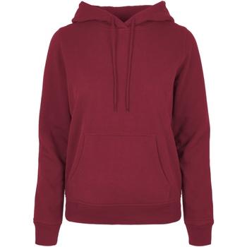 Vêtements Femme Sweats Build Your Brand BB007 Bordeaux