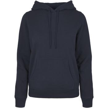 Vêtements Femme Sweats Build Your Brand BB007 Bleu marine