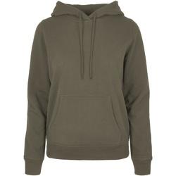 Vêtements Femme Sweats Build Your Brand BB007 Olive