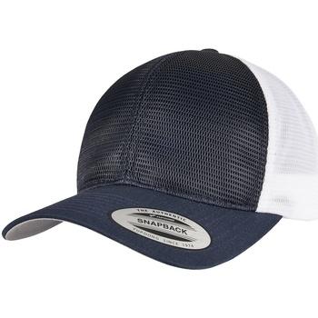 Accessoires textile Casquettes Flexfit YP162 Bleu marine / blanc