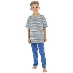 Vêtements Garçon Pyjamas / Chemises de nuit Tom Franks  Bleu marine
