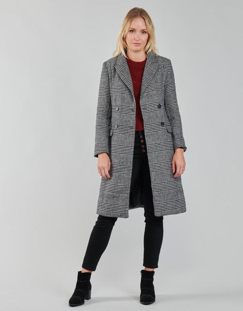 Vêtements Femme Manteaux Betty London PIXIE Noir / Gris