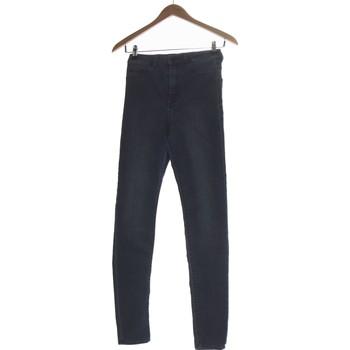 Vêtements Femme Jeans slim H&M Jean Slim Femme  36 - T1 - S Bleu