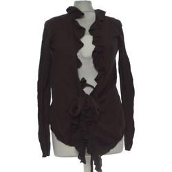 Vêtements Femme Gilets / Cardigans Zara Gilet Femme  40 - T3 - L Marron