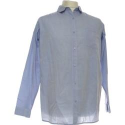 Vêtements Homme Chemises manches longues Ichi Chemise Manches Longues  40 - T3 - L Bleu