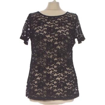 Vêtements Femme Tops / Blouses Grain De Malice Top Manches Courtes  38 - T2 - M Noir