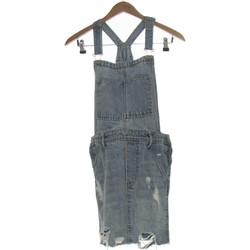 Vêtements Femme Robes courtes H&M Robe Courte  36 - T1 - S Bleu