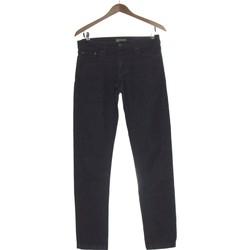 Vêtements Femme Jeans droit Autre Ton Jean Droit Femme  36 - T1 - S Bleu