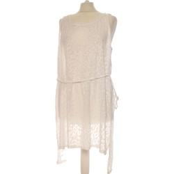 Vêtements Femme Robes courtes H&M Robe Courte  40 - T3 - L Blanc