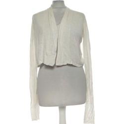 Vêtements Femme Gilets / Cardigans Cache Cache Gilet Femme  40 - T3 - L Blanc