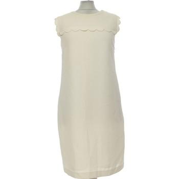 Vêtements Femme Robes courtes Claudie Pierlot Robe Courte  38 - T2 - M Beige