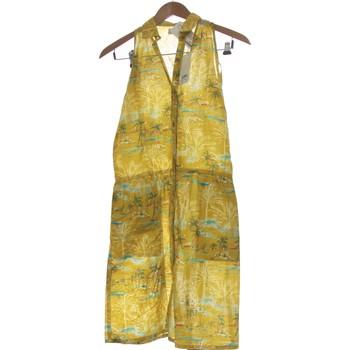 Vêtements Femme Robes courtes Edwin Robe Courte  36 - T1 - S Jaune