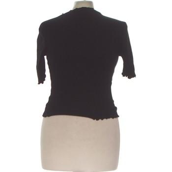 Vêtements Femme Tops / Blouses Forever 21 Top Manches Courtes  36 - T1 - S Noir