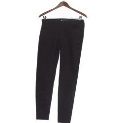 Vêtements Femme Chinos / Carrots Zara Pantalon Slim Femme  38 - T2 - M Noir