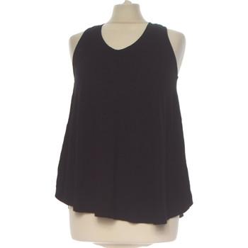 Vêtements Femme Débardeurs / T-shirts sans manche Atmosphere Débardeur  36 - T1 - S Noir