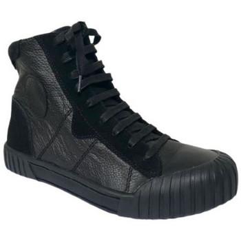 Chaussures Femme Baskets montantes Karston Basket omstar Noir