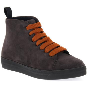 Chaussures Femme Boots Frau CACHEMIRE LAVAGNA Blu
