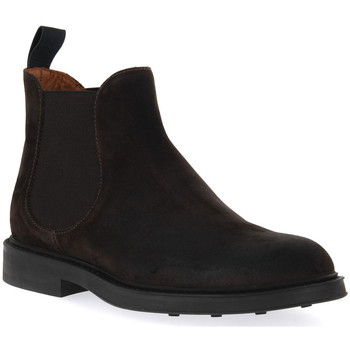 Chaussures Homme Boots Frau WAXY BLOCK PEPE Marrone