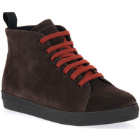 Chaussures Homme Boots Frau SUEDE MORO RUST Marrone