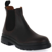 Chaussures Homme Boots Frau CRAZY MORO NERO Marrone