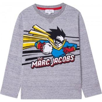 Vêtements Garçon T-shirts manches longues Marc Jacobs W25517 Gris