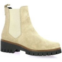 Chaussures Femme Boots Exit Boots cuir velours Beige