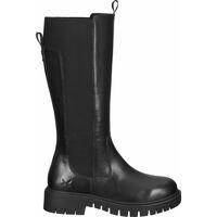 Chaussures Femme Bottes ville Sansibar Bottes Schwarz