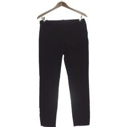 Vêtements Femme Chinos / Carrots Zara Pantalon Droit Femme  38 - T2 - M Noir