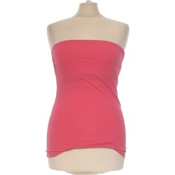 Vêtements Femme Débardeurs / T-shirts sans manche H&M Débardeur  36 - T1 - S Rose