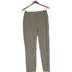 Vêtements Femme Pantalons fluides / Sarouels H&M Pantalon Droit Femme  34 - T0 - Xs Gris