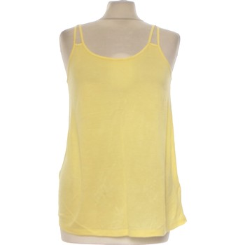 Vêtements Femme Débardeurs / T-shirts sans manche H&M Débardeur  36 - T1 - S Jaune