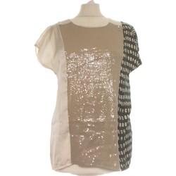 Vêtements Femme Débardeurs / T-shirts sans manche Gaudi Débardeur  38 - T2 - M Beige