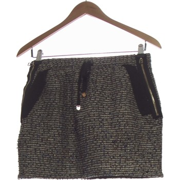 Vêtements Femme Jupes Color Block Jupe Courte  38 - T2 - M Blanc