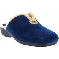 Chaussures Femme Chaussons Berevere Go home lady  en 975 bleu Bleu