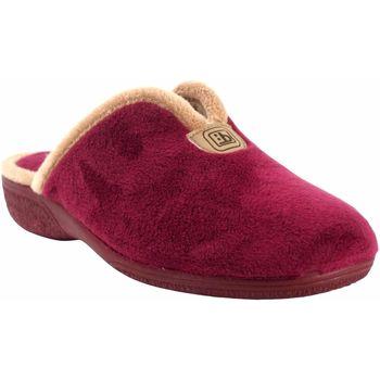 Chaussures Femme Chaussons Berevere Go home lady  à 975 bordeaux Rouge