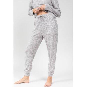 Vêtements Femme Pantalons Deeluxe Pantalon ERIKA Grey Mel
